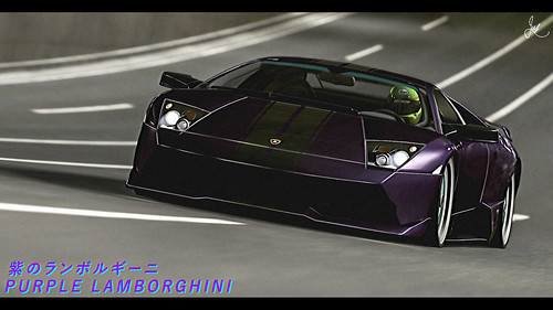 Purple Lamborghini | by Justin Young Virtual Photography