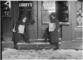 """""""Drunks are me best customers. I sell more's me bruder does. Dey buy me out so I kin go home,"""" March 1909"""