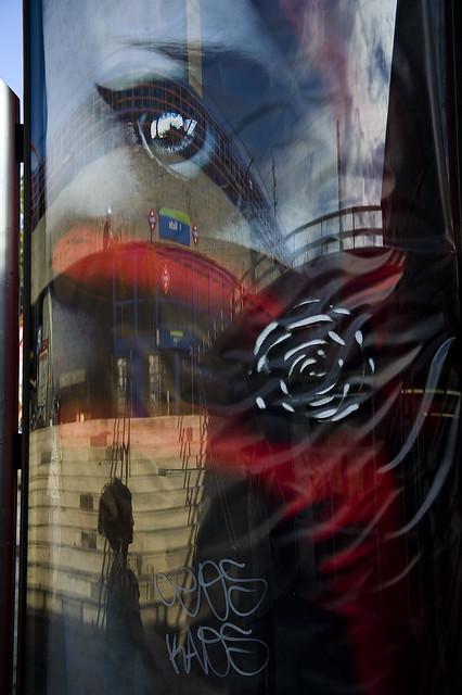 34_Intercambio de miradas. NOFOTOMARATÓN DE ALUCHE 2012