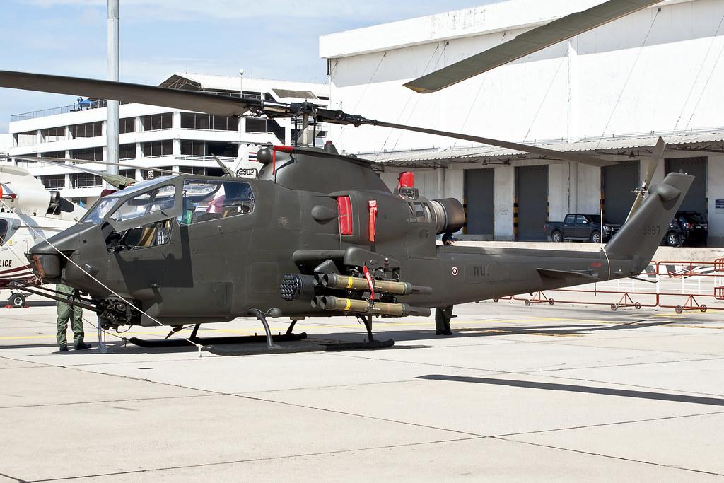 Bell AH-1F Cobra 9997 Royal Thai Army | DMK2012 | Mark