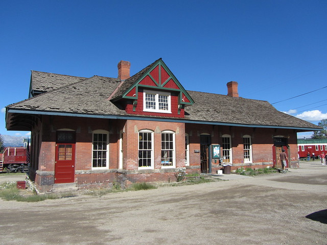 Station of the Leadville, Colorado & Southern Railroad