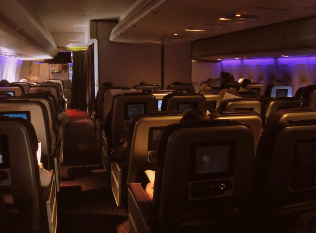 Virgin Atlantic 747-400 Premium Economy | Virgin Atlantic 74