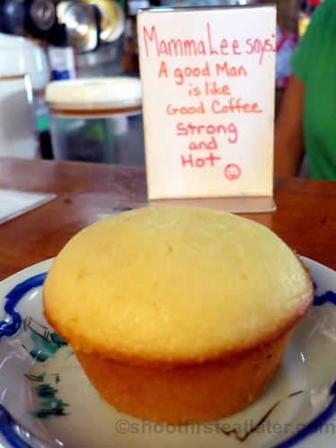 Real Coffee's calamansi muffin | by Shoot First, Eat Later