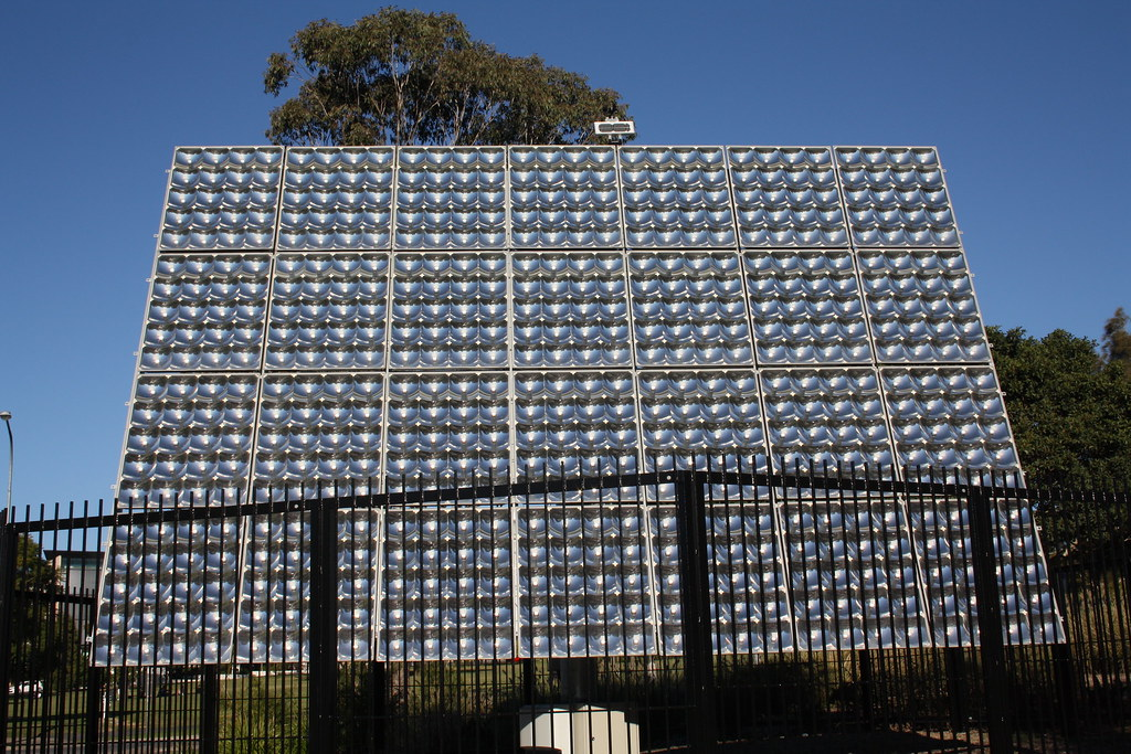 UQ Solar Array Visit