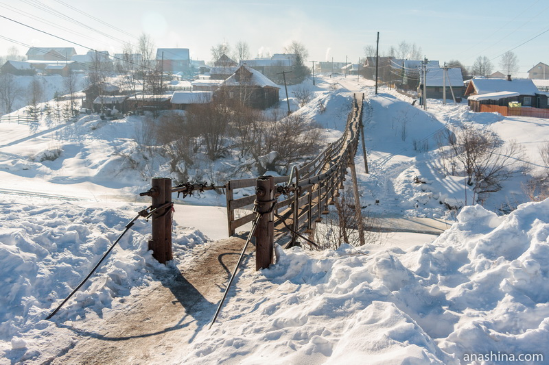 "Подвесной мост через Кострому (""лава""), Солигалич"