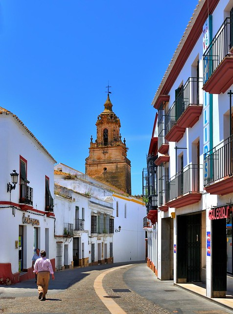 Carmona ( Provine of Seville )  : Parroquia San Bartolomé  / Cal