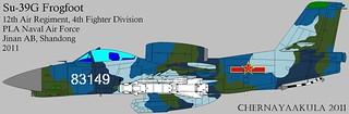 Early artist impression of Soviet RAM-J (Su-25 'Frogfoot')-Gak-hook-Su-39-PLANAF-IFV | by Motschke