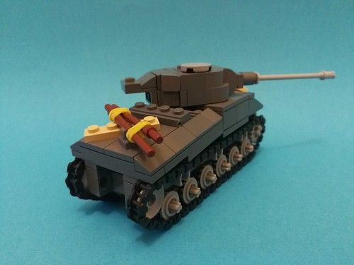 Sherman VC Firefly   by Annoyed Zebra(moderately half decent, kind of alri