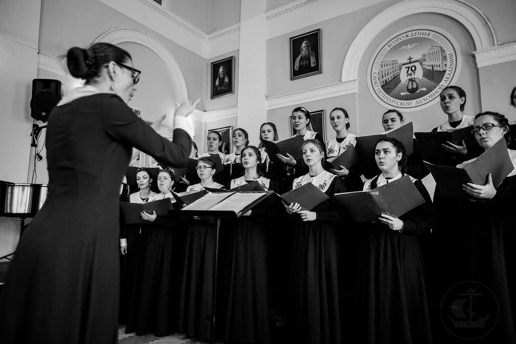 17 Мая 2018, Отчетный концерт Факультета церковного искусства /17 May 2018,Reported Concert Faculty of Church Art