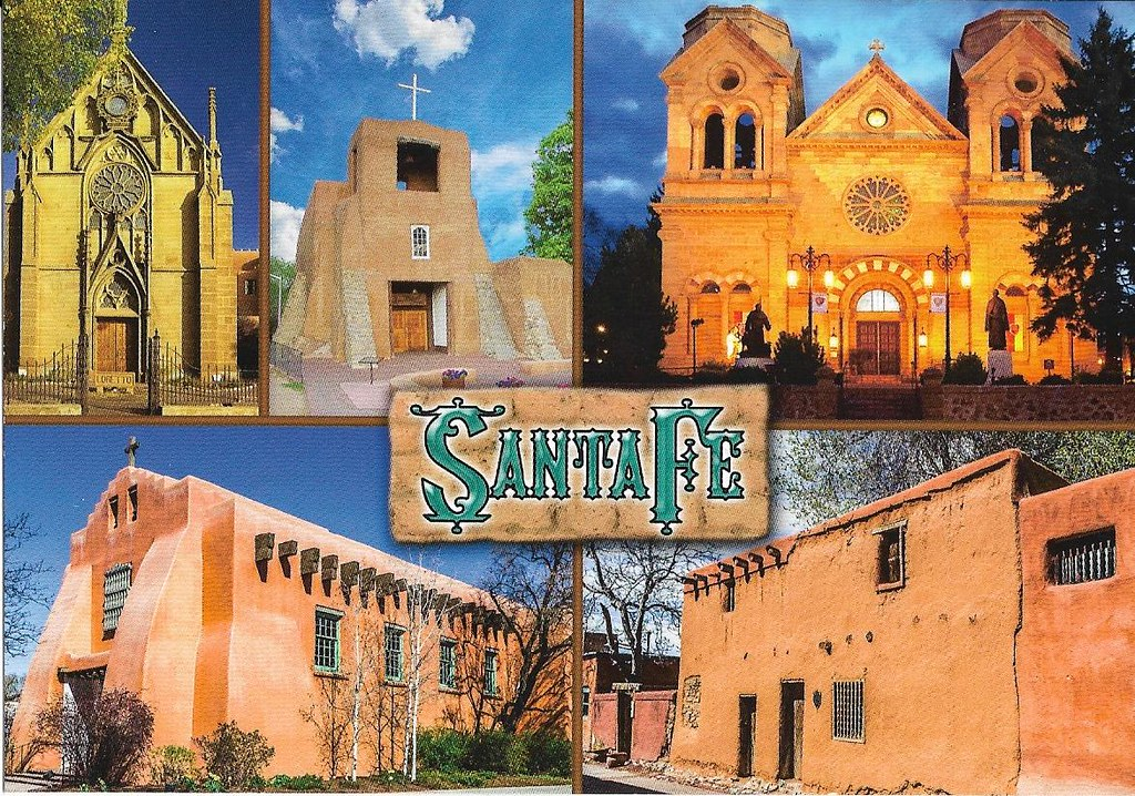 Santa Fe 5-view churches & oldest house in USA | Sandy