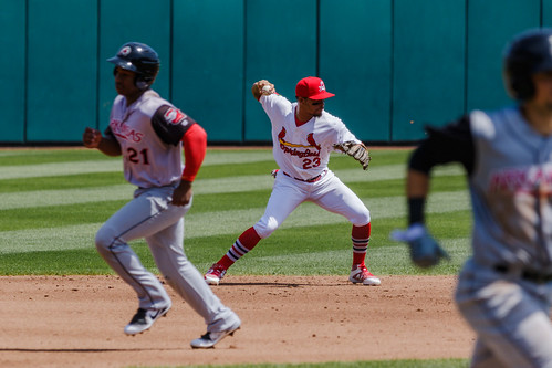 Arkansas Travelers vs Springfield Cardinals | by Chris Greig Photography