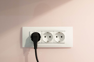 Socket on the wall | by wuestenigel