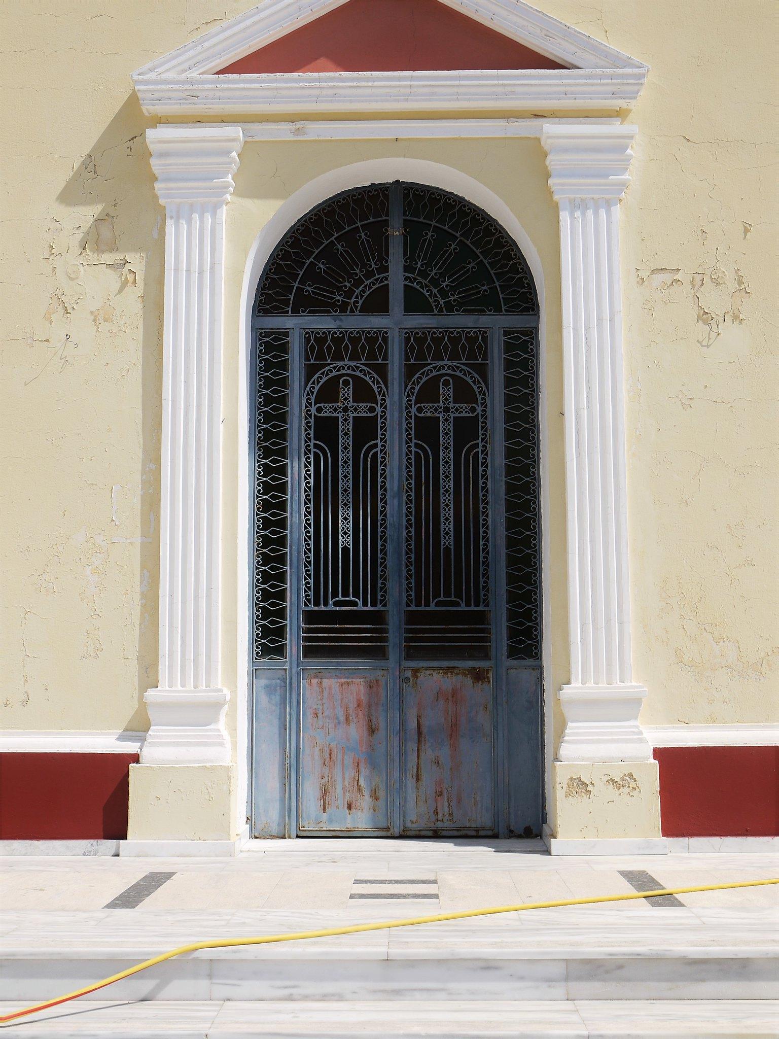 Skala Church Entrance