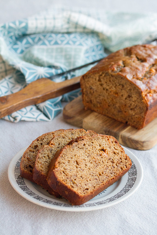 Espresso Butterscotch Banana Bread