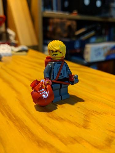 Chap Zanagher, ace mobile suit pilot. | by Ninja_Bait