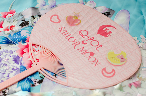 Q-Pot x Sailor Moon Novelty Fan | by sweetmilktea ♥