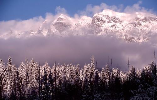 silverton bc mountain winter snow