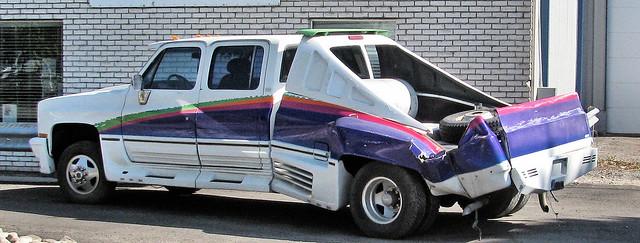Smashed Custom Chevy