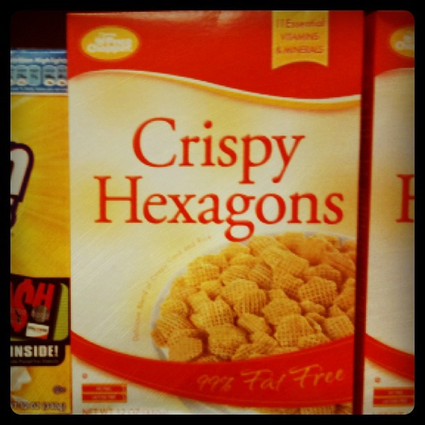 Award For LEAST Creative Breakfast Cereal Brand Name Goes