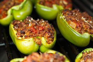 Grilled Stuffed Peppers | by Another Pint Please...