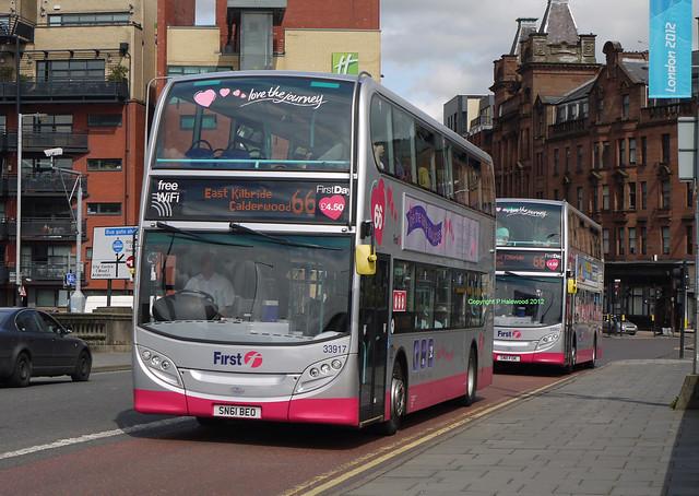 First Glasgow 33917 & 33902