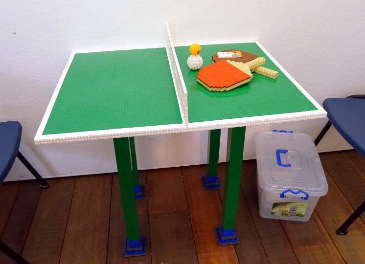 Wondrous Lego Table Tennis Alanboar Flickr Home Interior And Landscaping Mentranervesignezvosmurscom