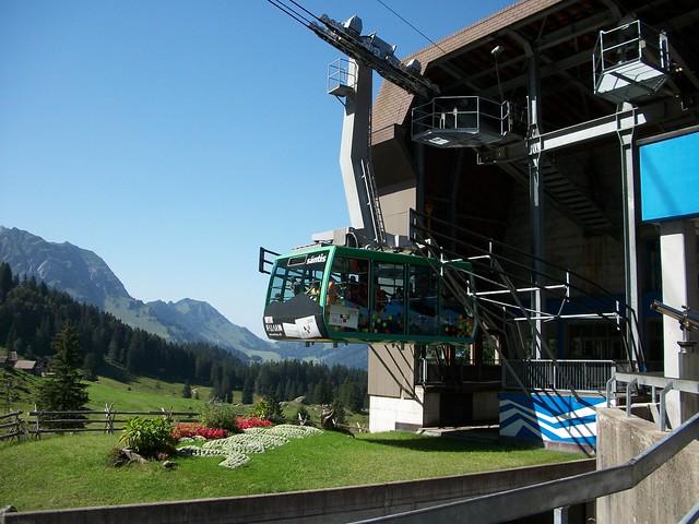Säntisbahn Schwägalp Switzerland (August 2012)
