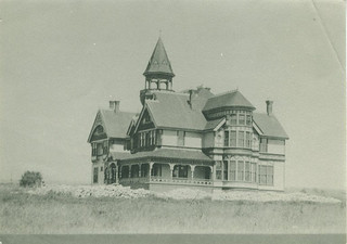 Claremont Hall in 1887