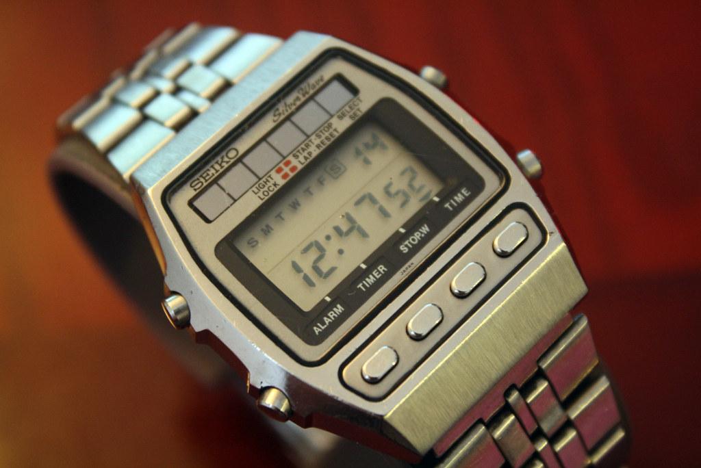 Seiko A557 5000 Solar Alarm Chronograph Lcd Quartz Watch Flickr