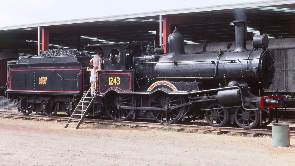 NSWGR_BOX006S01 - 1243 at NSWRTM, Thirlmere by michaelgreenhill