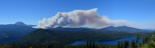 Reading fire from Harkness panoramic | by LassenNPS