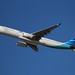 Garuda Indonesia's Airbus A330-341, PK-GPF, taking off from Sydney Airport by Ebroh