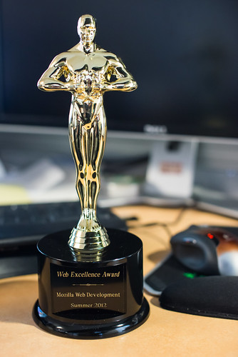Web Excellence Award | by morgamic