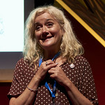 Talking to Animals with Sophie Thompson   The actress and author Sophie Thompson introduces her delightful debut, Zoo Boy © Helen Jones