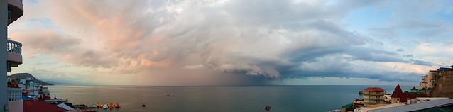 Crimea. Utyos. Panorama / Крым. Утес. Панорама