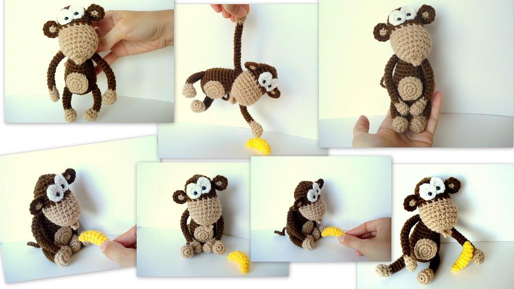 Amigurumi Monkey - pattern no longer available! - Pattern Center | 576x1024