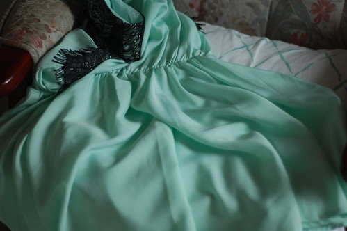 mint green dress | by this lyre lark
