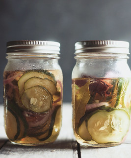 quick sweet pickles | by hannah * honey & jam