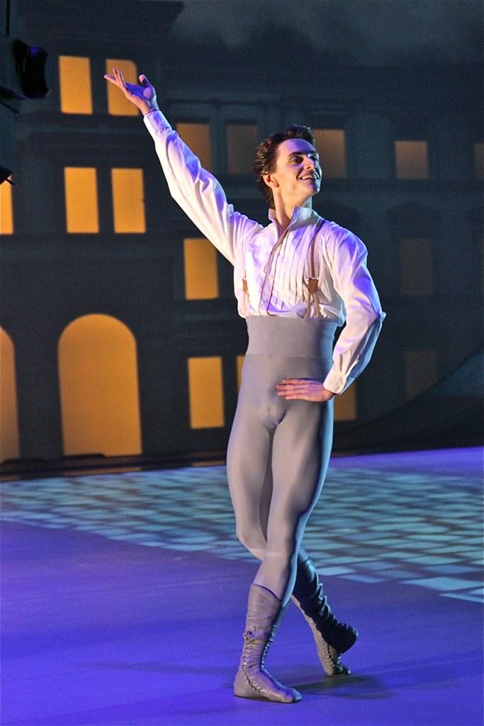 Sergey Polunin (Stanislavski and Nemirovich-Danchenko Music Theatre)