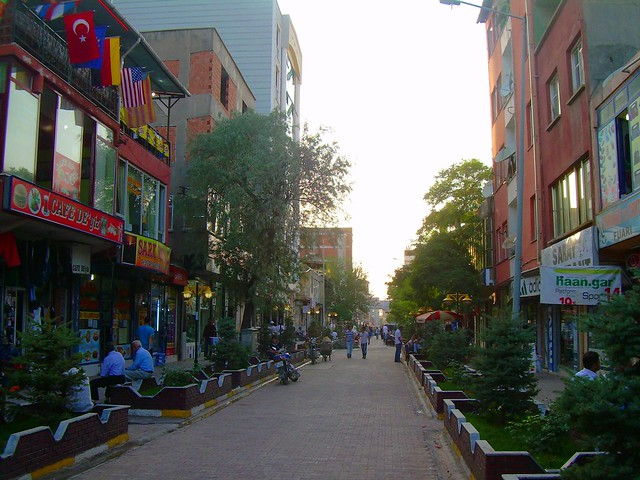 Doğubayazıt has one of the nicer downtown areas that Ive seen in Turkey by bryandkeith on flickr
