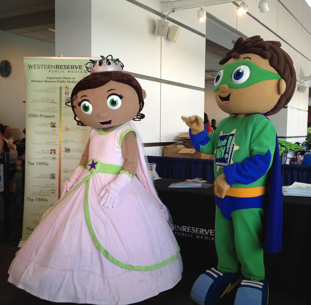 Super Why And Princess Presto