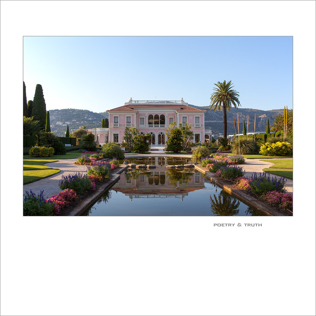 Villa & Jardins Ephrussi de Rothschild | at sunset ... Villa… | Flickr