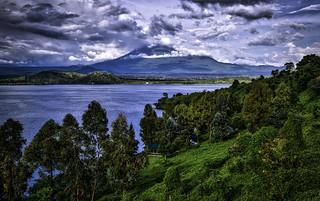 Volcanic View From Tchegera Island | by Baron Reznik