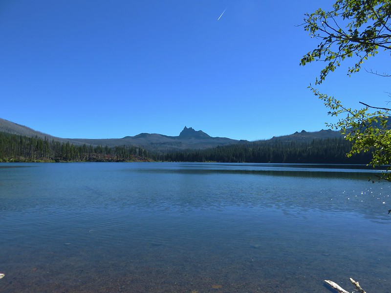 Three Fingered Jack from Marion Lake