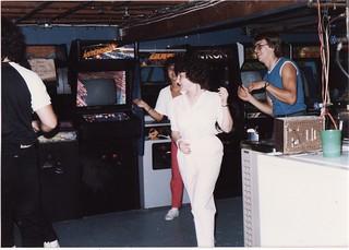 BOB'S GAMEROOM IN AUG 1985