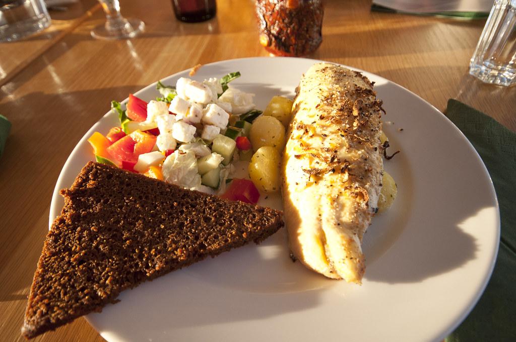 Dinner at Kaffi Borgir