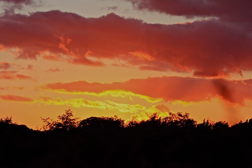 sunset red sky wales night clouds canon countryside scenery photos 550d