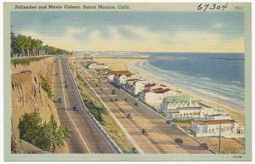 Palisades and Movie Colony, Santa Monica, Calif. | by Boston Public Library