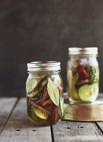 homemade pickles | by hannah * honey & jam