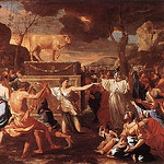 The Adoration of the Golden Calf: ca 1634